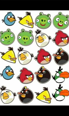 Plan an angry bird birthday party with an angry birds craft activity. Fun and easy angry birds crafts for kids. Ideas for making angry bird crafts. Bird Birthday Parties, Birthday Party Games, Boy Birthday, Cumpleaños Angry Birds, Festa Angry Birds, Angry Birds Desenho, Bird Clipart, Bird Party, Bird Theme