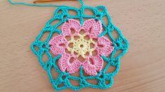 Crocheted motif 65