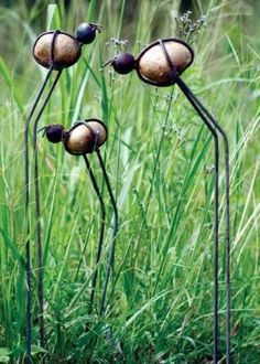Bohemian Pages: Love these guys! I need some in my front garden!