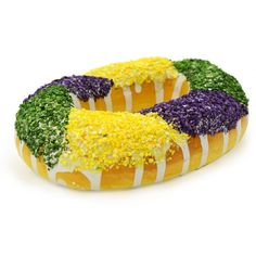 Miniature King Cake Decoration, cute wreath add-on!