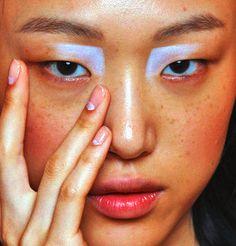 Sora Choi @ Gabriele Colangelo Spring 2015  makeup