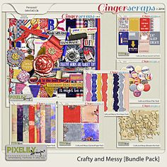 Crafty and Messy [Bundle Pack]