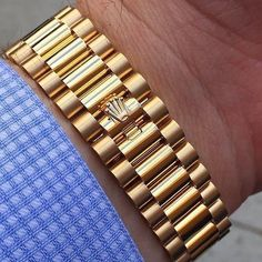 Most comfortable bracelet ever? Mens Gold Bracelets, Mens Gold Jewelry, Unique Jewelry, Jewelry Bracelets, Jewelry Accessories, Jewellery, Rolex Watches, Watches For Men, Luxury Watches