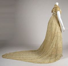 Regency Trained Gowns | Ladies From Other Centuries