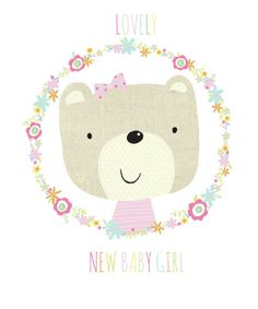 Jeannine Rundle - AD2890A NURSERY BEAR NEW BABY GIFT BAG