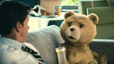 Ted, the new film from Family Guy creator Seth MacFarlane, is a comedy with no jokes, writes Robbie Collin. John Bennett, Ted Bear, Unforgettable Quotes, Gato Gif, Plus Tv, Seth Macfarlane, Funny Scenes, Adult Humor, New Movies
