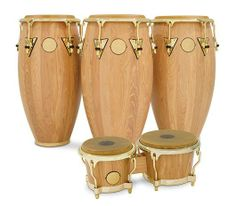 Latin Percussion congas and bongos