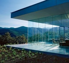 """""""People who live in glass houses shouldn't throw stones."""" Glass Houses : Architectural Digest"""
