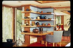 Alden B. Dow Home and Studio, (Frank Lloyd Wright apprentice) 1934, in Midland, Michigan