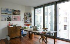 Photos - put over fireplace : Victoria's Brazilian Modernism Mix in Switzerland