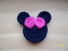Ravelry: Mouse Head Appliques pattern by Sarah M. Jones