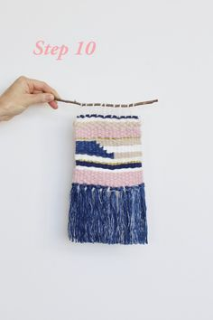 Weaving tutorial: create your own wall hanging - The Interiors Addict