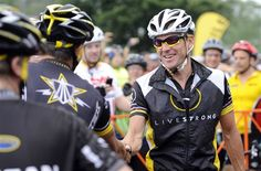 Armstrong has set up a fundraising team for the Livestrong Challenge ride in Austin in October. It will be his first return to the event since 2012.