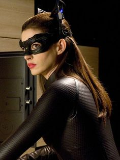 Selina's Catwoman Makeup in The Dark Knight Rises