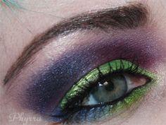 Sugarpill Absinthe at Velocity Tutorial. Pin now, read later! @Sugarpill Cosmetics #sugarpill #beauty #makeup #eyeshadow #green #violet #tutorial