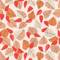 The latest fabric collection from designer Lizzy Houseprint & pattern