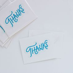 New thank you card in the shop!
