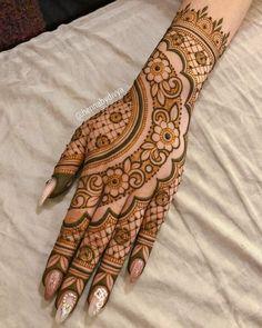 Easy Mehndi Designs, Latest Mehndi Designs, Back Hand Mehndi Designs, Henna Art Designs, Mehndi Designs For Girls, Wedding Mehndi Designs, Beautiful Henna Designs, Dulhan Mehndi Designs, Tattoo Designs