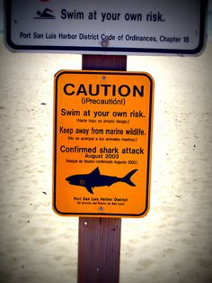 Don't go near the water...