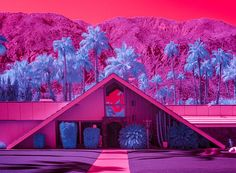 palm springs packs a punch in these infrared shots of modernist architecture eye-candy | Netfloor USA