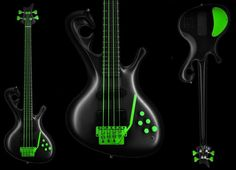 Jens Ritter Bass Guitars. With a tremelo!