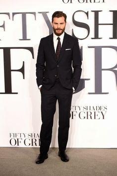 Fifty Shades Updates: HQ PHOTOS: Jamie Dornan at the Fifty Shades of Grey UK Premiere