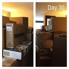 Day 30 - Poor Travis's hotel room #parr365