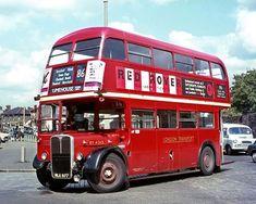 Bedford Buses, Rt Bus, East End London, Routemaster, Double Decker Bus, Bus Coach, Child Hood, London Bus, London Transport