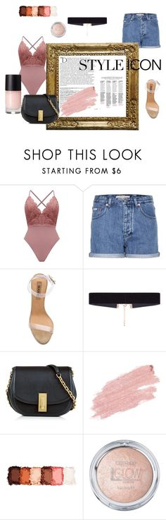 """style icon"" by akidesekerii on Polyvore featuring moda, Calvin Klein Jeans, Balmain, YEEZY Season 2, 8 Other Reasons, Marc Jacobs, Jane Iredale ve NYX"
