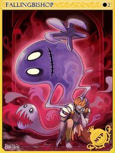 Fallen Bishop Card - Ragnarok Online Ragnarok Card, Graffiti Art, Best Games, Runes, Game Art, Otaku, Wallpaper, Fall, Anime