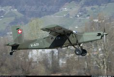 Swiss Air Force: Pilatus PC-6/B2-H2M-1 Turbo Porter Military Jets, Military Aircraft, Bush Pilot, Bush Plane, Swiss Air, Gili Island, Air Space, Aircraft Pictures, Historical Pictures