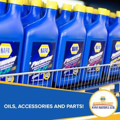 Oils, accessories and parts!  #kirkmotors #Napa #Savannah #Countryside #GeorgeTown #parts #tools #caymanislands