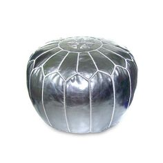 I pinned this Moroccan Pouf in Silver from the Isabella Ottomans event at Joss and Main! They have them in all colors. A great accent piece for almost any room! Check them out!Furniture-Concept Candie Interiors