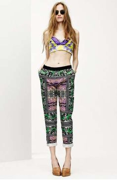 trouser printed