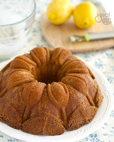 It is moist, buttery and perfectly sweet with just a touch of lemon flavor from the 7UP and lemon zest.  A cake that good and that decadent is probably not the wisest idea if you are considering calories.