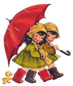 Soloillustratori: Let it rain ... images