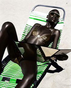 africafashionweek:  Kaone Kario by Robert...