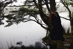 Some Enchanted Evening   Josephine Skriver   Yelena Yemchuk #photography   Harper's Bazaar UK December 2012