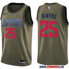 2410081d5 Men s Nike Houston Rockets Robert Horry Green Salute to Service NBA  Swingman Jersey