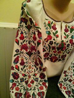 """Ukrainian traditional embroidery вишивка """"колодочками"""""""