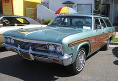 1966 Chevy Caprice Station Wagon