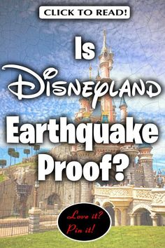 Is Disneyland earthquake proof? Since it opened in there have been 11 quake of However, no major damage or injuries have occured except . Disneyland Vacations, Disneyland Secrets, Disney Trips, Disney Travel, Disney Parks, Travel Articles, Travel Advice, Travel Guides, Travel Tips