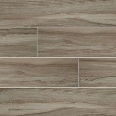 MS International Aspenwood Ash 9 in. x 48 in. Glazed Porcelain Floor and Wall Tile (12 sq. ft. / case)-NASPASH9X48 - The Home Depot