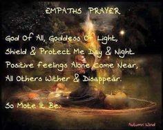 Empaths prayer