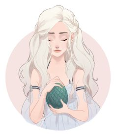 Gif- Daenerys by dorodraws.deviantart.com on @DeviantArt