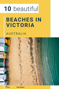 Victoria is known for its rugged coastlines, which offer a range of beaches from glistening white sands to rocky coves. Here are some of the best beaches in Victoria, Australia to spend time at on your next visit. Whether you're looking for peace and serenity or fun with friends, there's something here that will suit everyone! These Victorian beaches are beautiful all year round. Visit Australia, Melbourne Australia, Australia Travel, Western Australia, Melbourne Victoria, Victoria Australia, Australian Photography, Melbourne Street, Visit Victoria