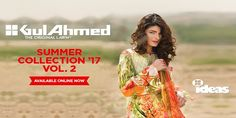 Gul Ahmed Lawn Vol-2 Summer Collection 2017 With Price http://www.womenclub.pk/gul-ahmed-lawn-vol-2-summer-collection-2017-price.html #GulAhmed #Lawn #Vol-2 #Summer #Collection #Price #Lawn2017