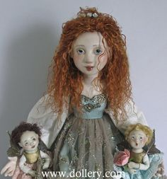 The Princess and Court of Fairies Friedericy Dolls