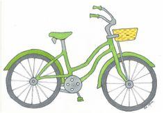 Green Girl Bike   Custom Orders Available $60.00