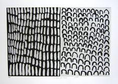 #so65 #texture  Jimbalan & Lilmim by Lena Nyadbi - etching